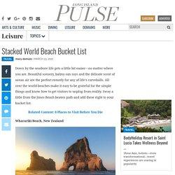 Stacked World Beach Bucket List
