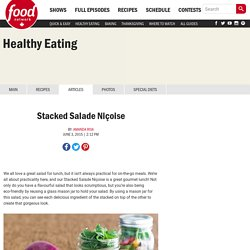 Stacked Salade Niçoise