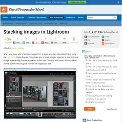 Stacking images in Lightroom (Build 20100401080539)