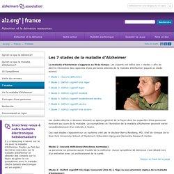 7 stades d'Alzheimer et symptômes
