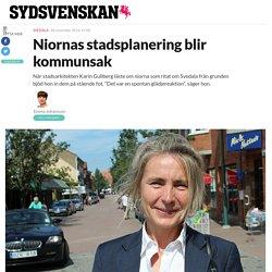 Niornas stadsplanering blir kommunsak - Sydsvenskan