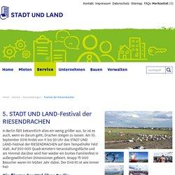 STADT UND LAND - Festival der Riesendrachen