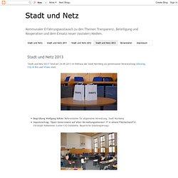 Stadt und Netz 2013