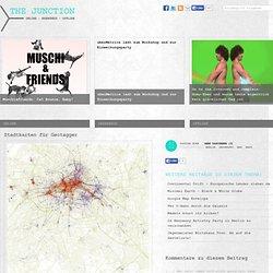 Stadtkarten für Geotagger - TheJunction