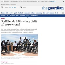 Staff Benda Bilili: where did it all go so wrong?