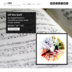 Off the Staff - C82: Works of Nicholas Rougeux