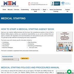 Tips To Start a Medical Staffing Business