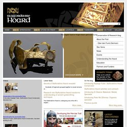 Staffordshire Hoard | The largest hoard of Anglo-Saxon gold ever found