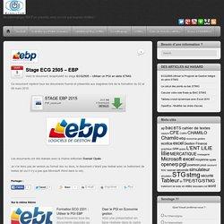 Stage ECG 2505 – EBP