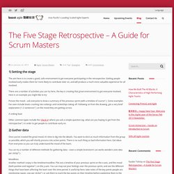 The Five Stage Retrospective - A Guide for Scrum Masters - Boost Agile