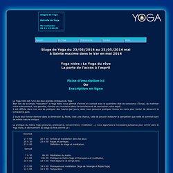 Stage Yoga du 24 au 26 mai 2013 à Mane : TAT TVAM ASI » (Toi aussi, tu es Cela), étude de l'Upanishad de l'Homme-Sanglier : Varaha