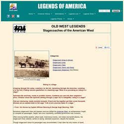Stagecoaches of the American West