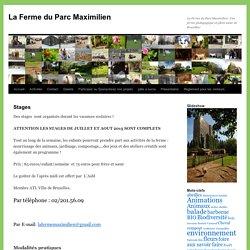 La Ferme du Parc Maximilien