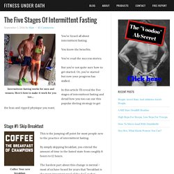 The Five Stages Of Intermittent Fasting