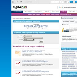 CV marketing en ligne