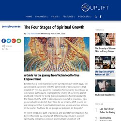 The Four Stages of Spiritual Growth - UPLIFT