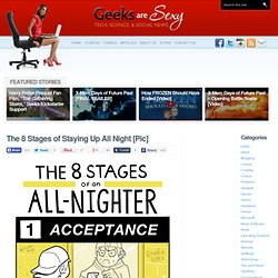The 8 Stages of Staying Up All Night - StumbleUpon