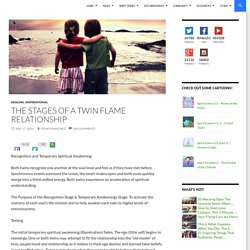 The Stages of a Twin Flame Relationship