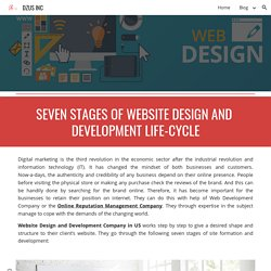 DZUS INC - 7 Stages of Website Design and Development Life-cycle