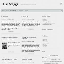 copywriting, web content, fiction, screenwriting and games | Eric Staggs: Writer