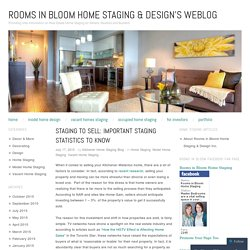 Staging to Sell: Important Staging Statistics to Know