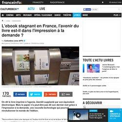 L'ebook stagnant en France, l'avenir du livre est-il dans l'impression à la demande ?