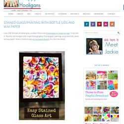 Stained Glass Painting Project for Kids