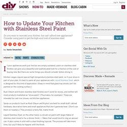 DIY Kitchen Design Ideas - Kitchen Cabinets, Islands, Backsplashes