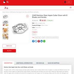 Stainless Steel Apple Cutter Slicer 8 Blades