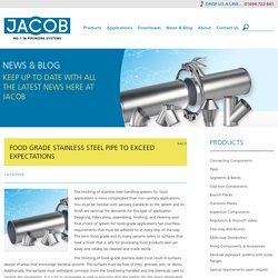 Food Grade Stainless Steel Pipe To Exceed Expectations