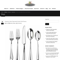 High-Quality Stainless Steel Flatware and More by Inox Artisans