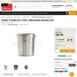 Tiamo Stainless Steel Precision Dosing Cup - Dosing