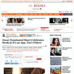 Rocco Staino: Oscar-Nominated Short Celebrates Books & It's an App, Too! (Video)