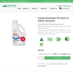 Pet Stains Carpet Cleaner