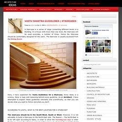 VASTU SHASTRA TIPS FOR STAIRCASES