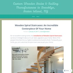 Are You Seeking Wooden Stair Manufacturing Services