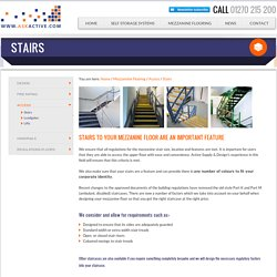 Stairs - Active Supply & Design