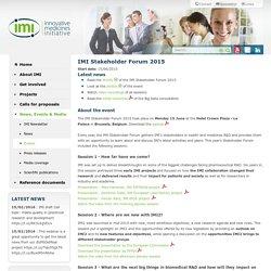 IMI - Innovative Medicines Initiative
