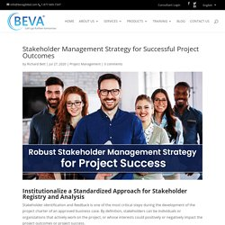 Robust Stakeholder Management Strategy for Project Success