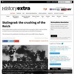 Stalingrad: the crushing of the Reich