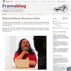Richard Stallman, Rousseau et Kant