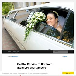 Get the Service of Car from Stamford and Danbury