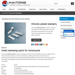 stamping parts for motorcycle
