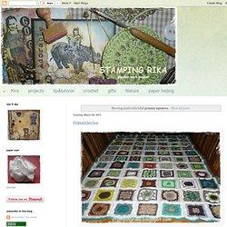 stamping rika: granny squares