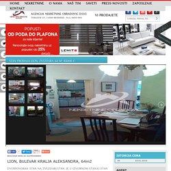 STAN Prodaja LION, ZVEZDARA, 64 m2, 85000 e
