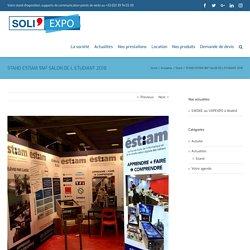 STAND ESTIAM 9M² SALON DE L ETUDIANT 2018 – SOLI'EXPO
