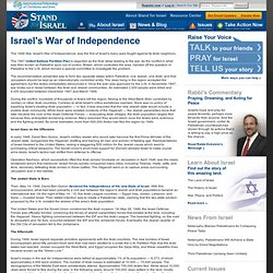 Stand for Israel: Israel's War of Independence