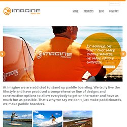 Imagine Surf Stand Up Paddleboards