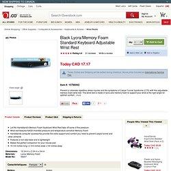 Memory Foam Standard Keyboard Wrist Rest