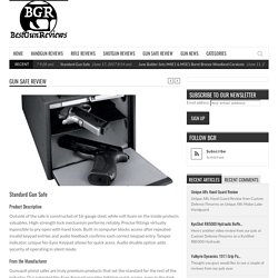 Standard Gun Safe - BestGunReviews - Gun Reviews
